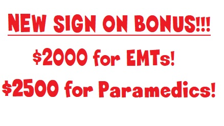 Sign on now and get a BONUS!